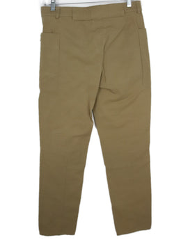 Celine Neutral Tan Cotton Pants 2