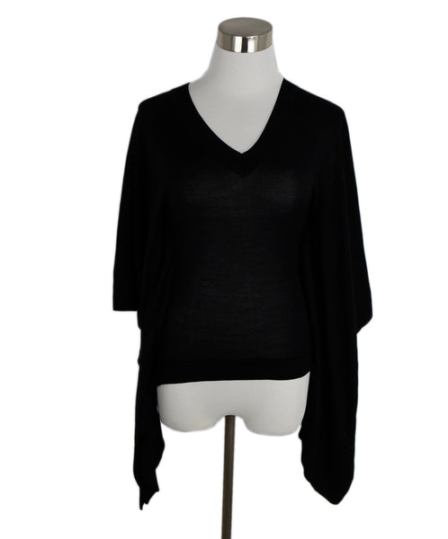 Celine Black Silk Top 1
