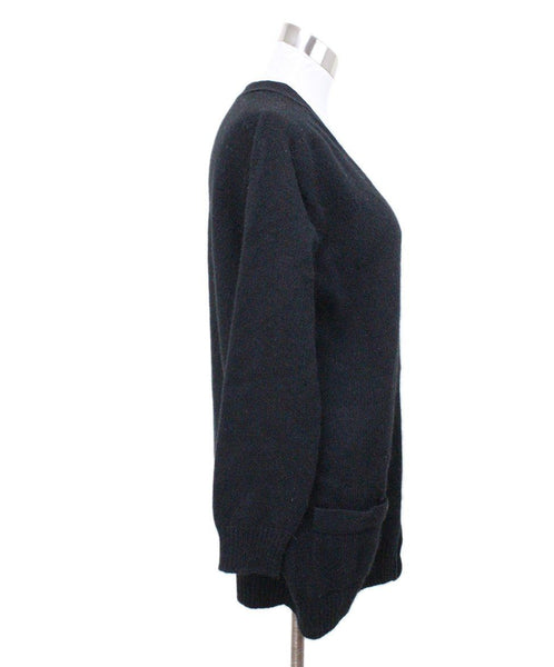 Cardigan Celine Size 8 Black Cashmere Sweater