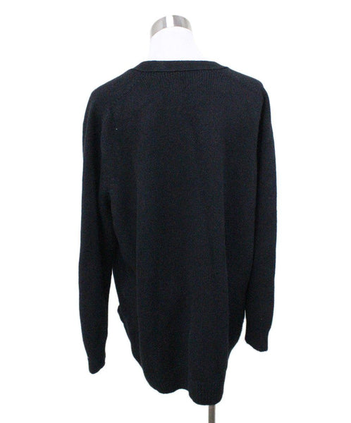 Celine Black Cashmere Sweater 2