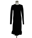 Celine Size 2 Black Cotton Dress 1