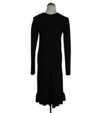 Celine Size 2 Black Cotton Dress 3