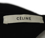 Celine Size 2 Black Cotton Dress 4