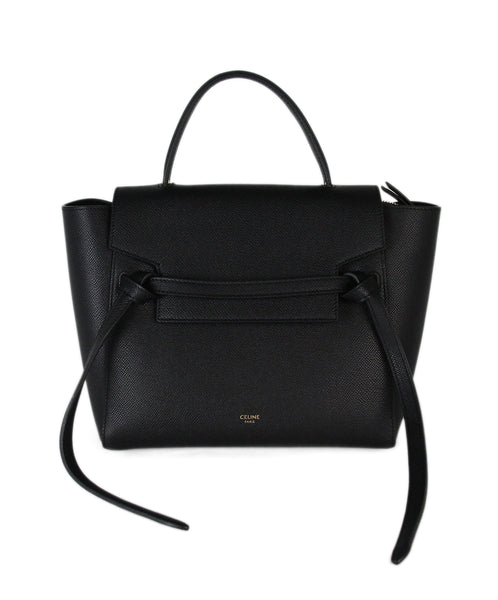 Celine black leather Nano Belt Belt Bag 1