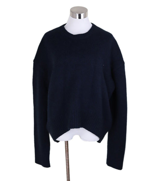 Celine Black Navy Cashmere Sweater