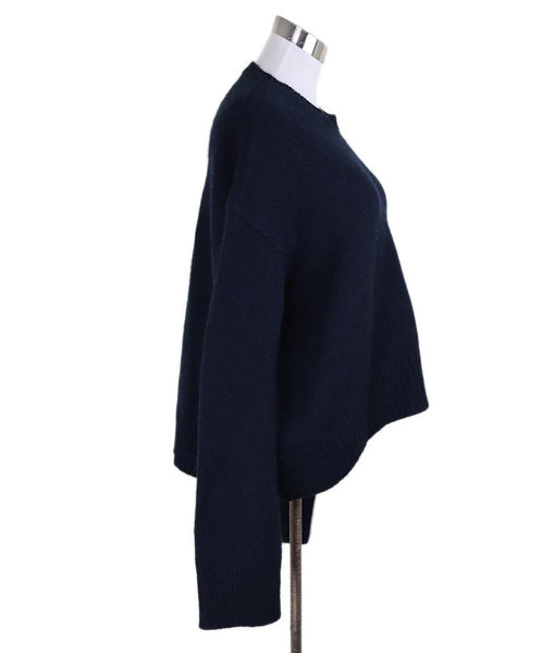 Celine Black Navy Cashmere Sweater 1