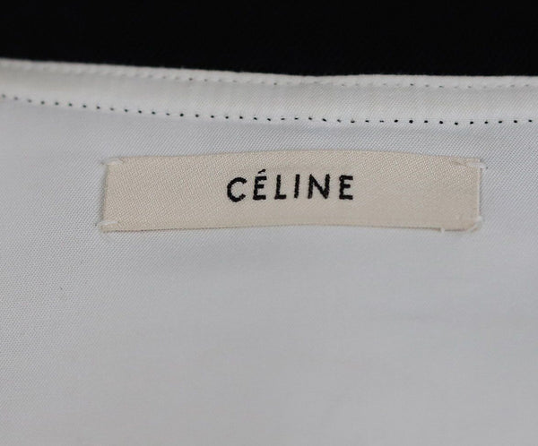 Celine Black Cotton Top 4