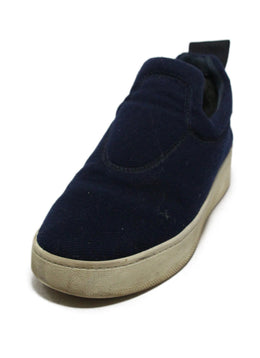 Celine Blue Navy Flannel Sneakers 1