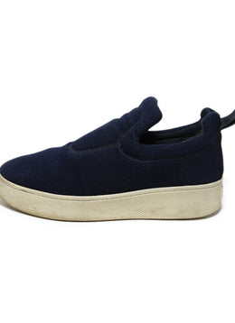 Celine Blue Navy Flannel Sneakers 2