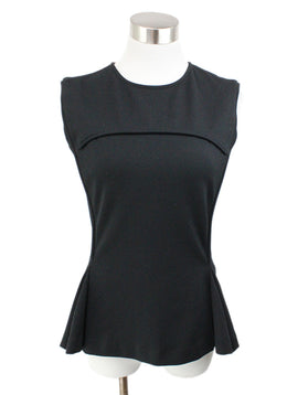 Chalayan Black Cotton Top 1