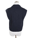 Chanel Navy Wool Vest Top 3