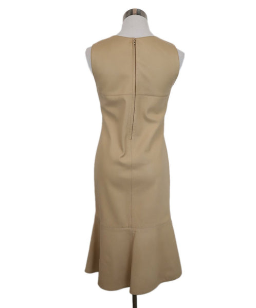 Chanel Beige Leather Dress 3