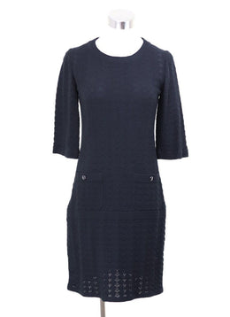Chanel Black Cotton Dress