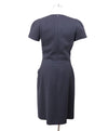 Chanel Black Wool Nylon Dress Sz 4