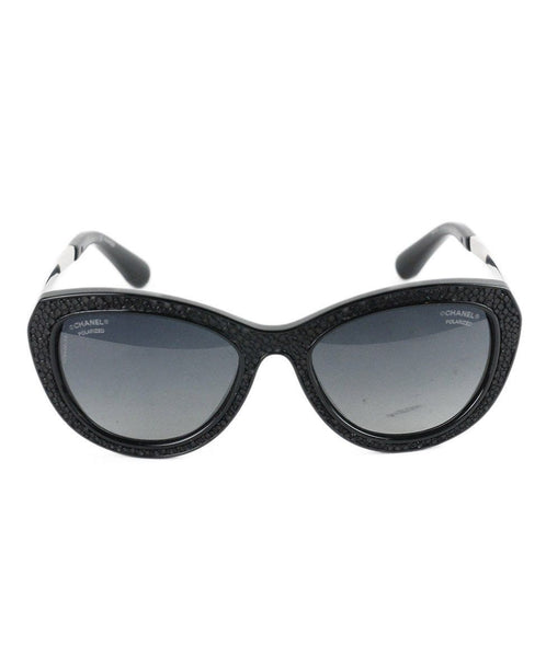 Chanel Black Frame Sunglasses