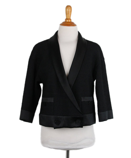 Chanel Black Jacket 1
