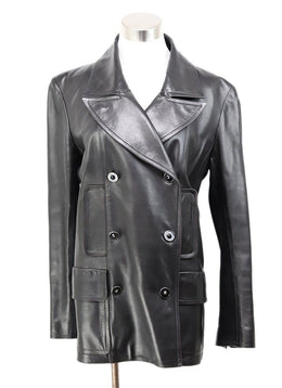 Chanel Black Leather Jacket 1