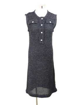 Chanel Black Nylon Rayon Dress