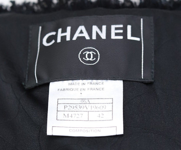 Chanel Black Pink Grey Cotton Nylon Jacket 4