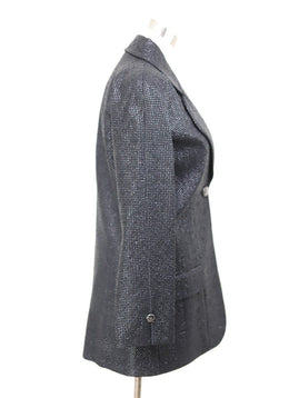 Chanel Black Viscose Silk Jacket 1