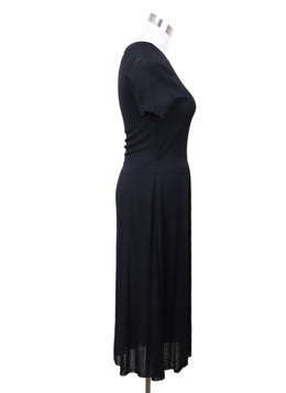 Chanel Black Viscose Dress 1