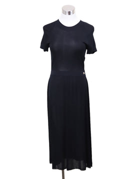Chanel Black Viscose Dress