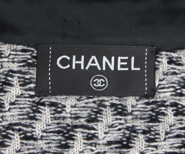Chanel Black Cashmere and Mohair Sweater 3
