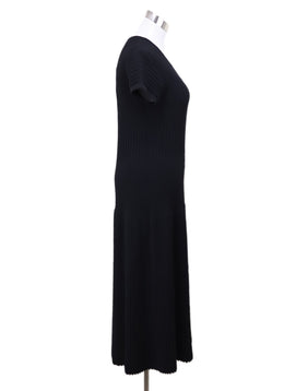 Chanel Black Wool Dress 1