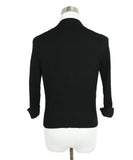Chanel Black Cotton Ivory Pearl Buttons Cardigan Sweater 3