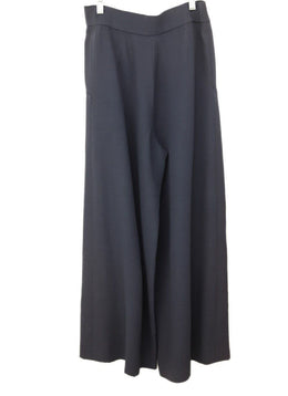 Chanel Blue Polyester Rayon Vintage Pants 2