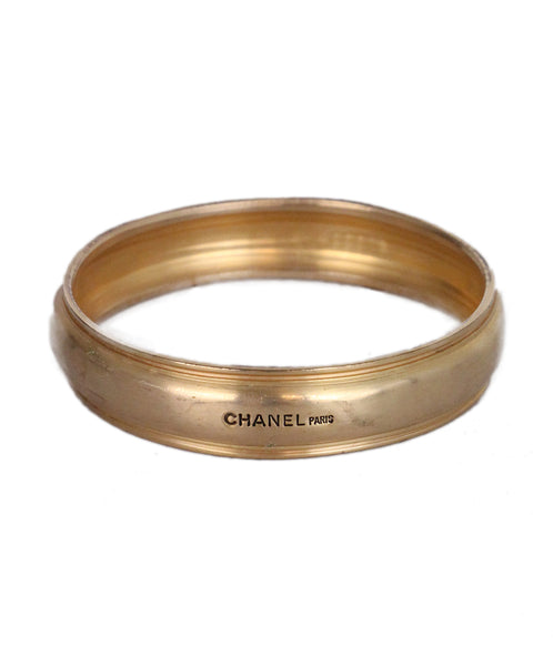 Chanel Bronze Metal Bracelet 1