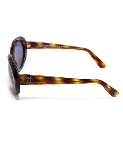 Chanel Brown Tortoise Sunglasses 1