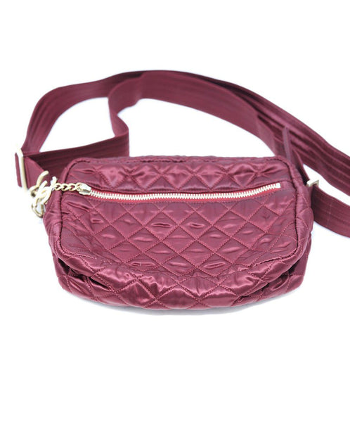 Chanel Burgundy Quilted Crossbody 5