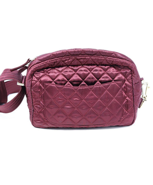 Chanel Burgundy Quilted Crossbody 3