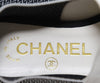 Chanel Leather Flats with Flower Accent 6