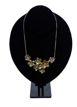 Chanel Gold Flower Necklace 1