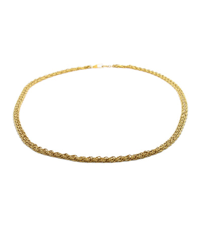 Chanel Gold Metal Chain Necklace 2