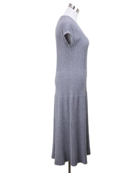 Chanel Grey Wool Dress 1