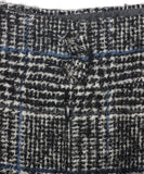 Chanel Black Grey Wool Polyamide Skirt 3