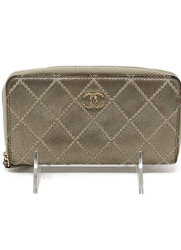 Chanel Metallic Gold Wallet