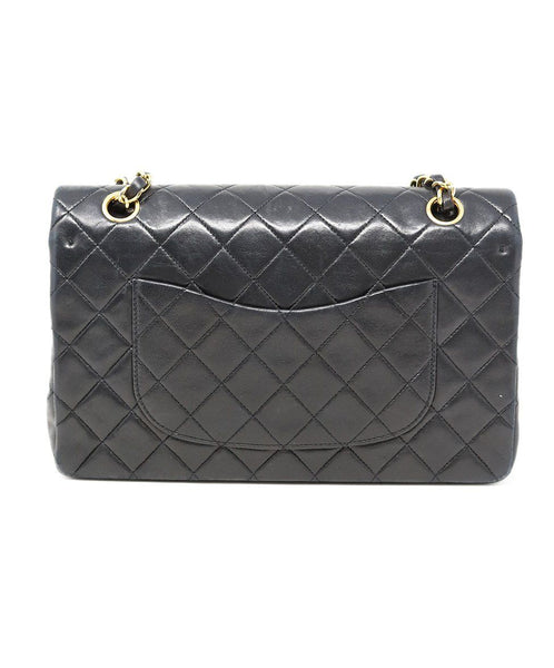 Chanel Classic Black Quilted Handbag 2