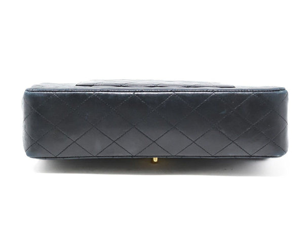 Chanel Classic Black Quilted Handbag 3