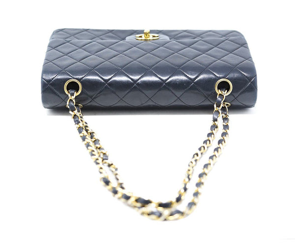 Chanel Classic Black Quilted Handbag 4