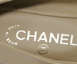 Chanel Tan Leather Black Shoes 5