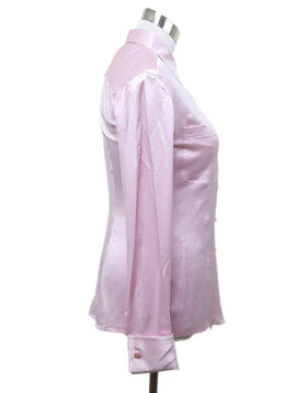 Blouse Chanel Pink Silk Top 2