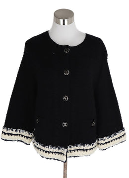 Chanel Black Cashmere Sweater 1