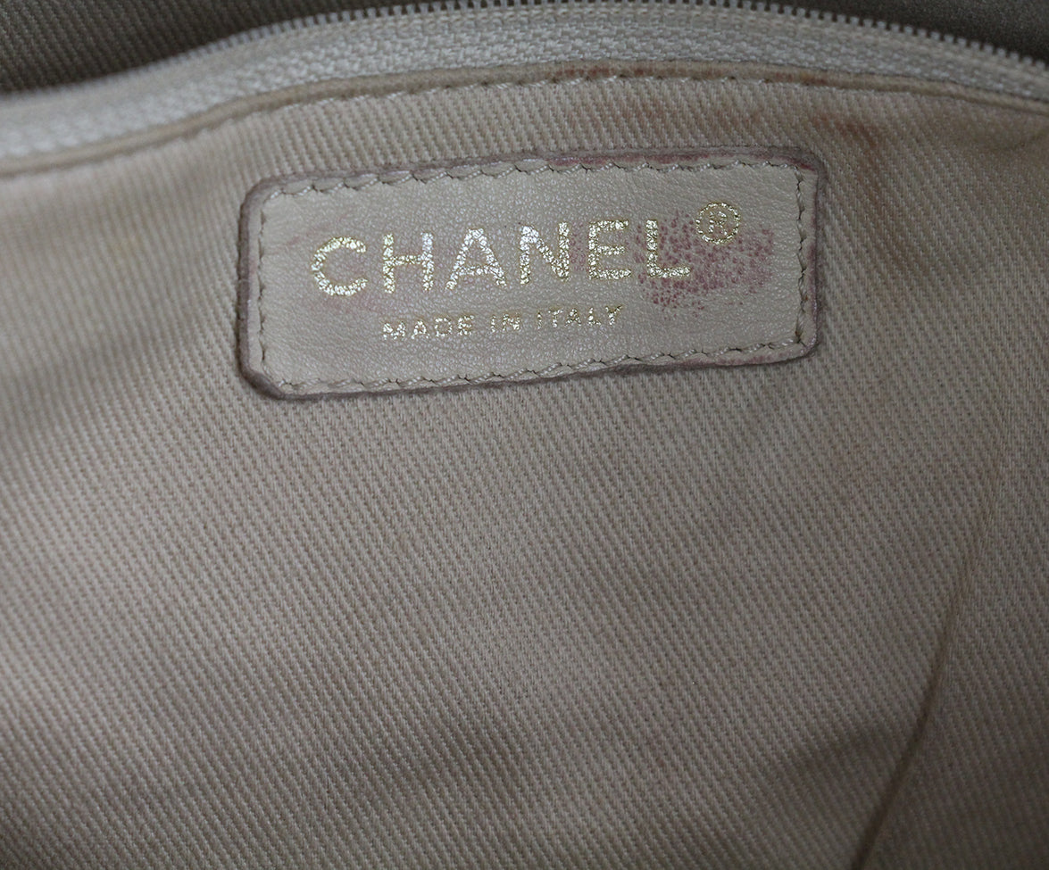 Chanel Tan Leather Tote 10