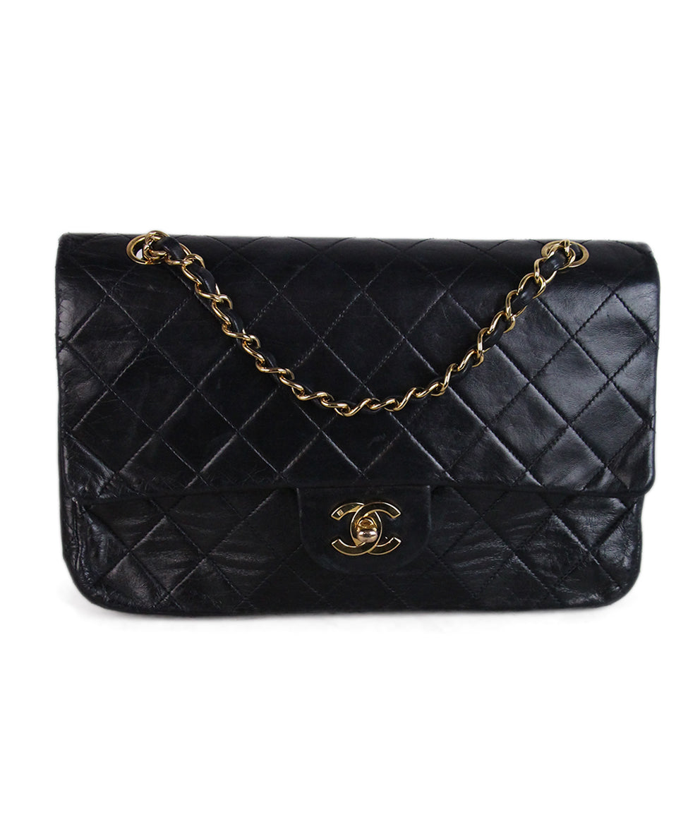 Chanel Vintage Classic Black Bag 1