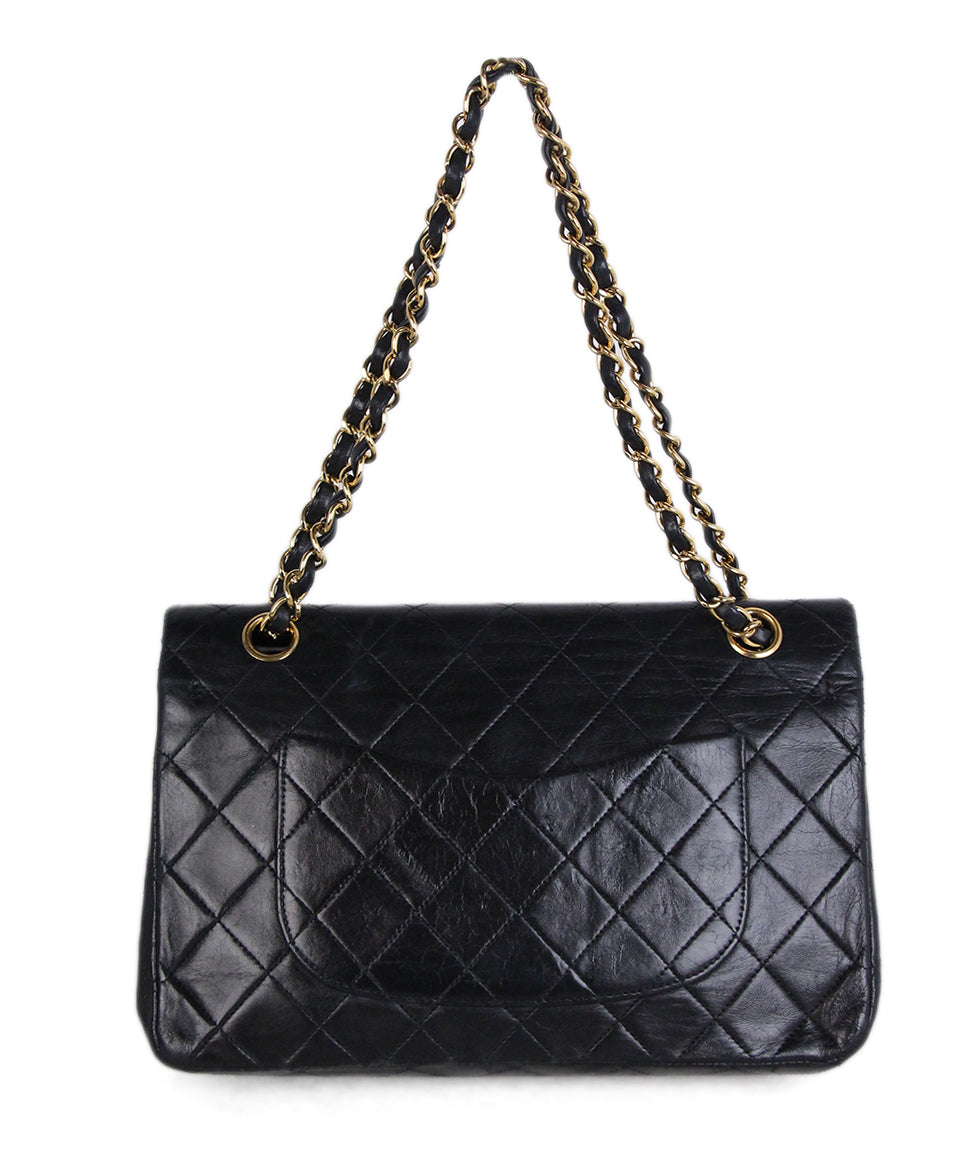 Chanel Vintage Classic Black Bag 3