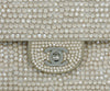 Chanel Neutral Beige Rhinestone Handbag 11